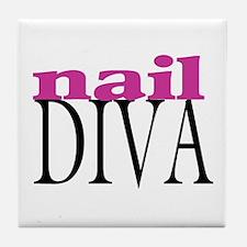 Nail Diva Tile Coaster