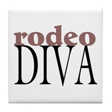 Rodeo Diva Tile Coaster
