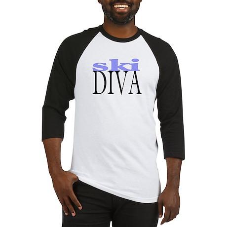 Ski Diva Baseball Jersey