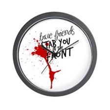 Cute Quotes wilde Wall Clock