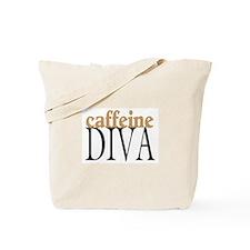 Caffeine Diva Tote Bag