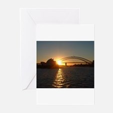 Sydney Sunset Greeting Cards (Pk of 10)