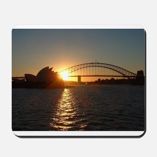 Sydney Sunset Mousepad