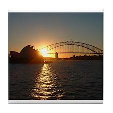 Sydney Sunset Tile Coaster