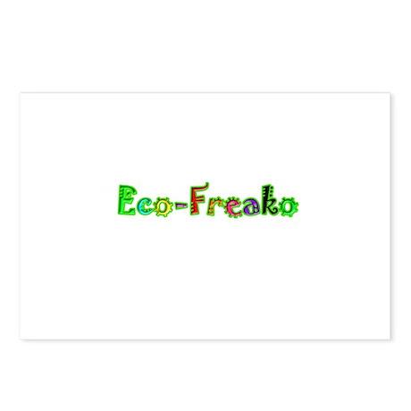 Eco Freako Postcards (Package of 8)