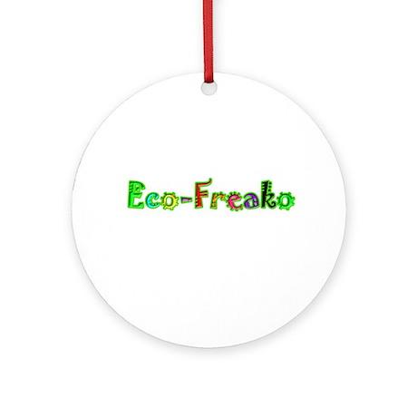Eco Freako Ornament (Round)