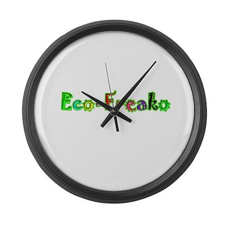 Eco Freako Large Wall Clock