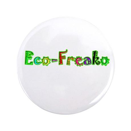 "Eco Freako 3.5"" Button"