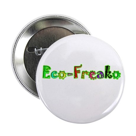 "Eco Freako 2.25"" Button (100 pack)"