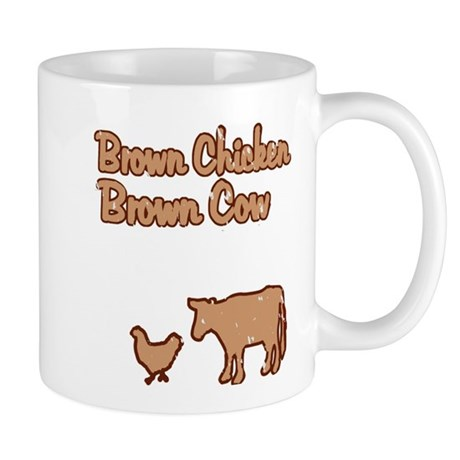 Brown Chicken Brown Cow Mug