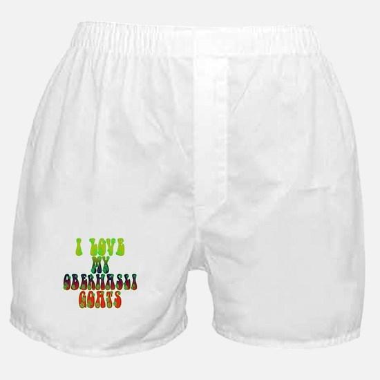 Oberhasli Goats Boxer Shorts