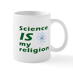 Science is my religion Mug