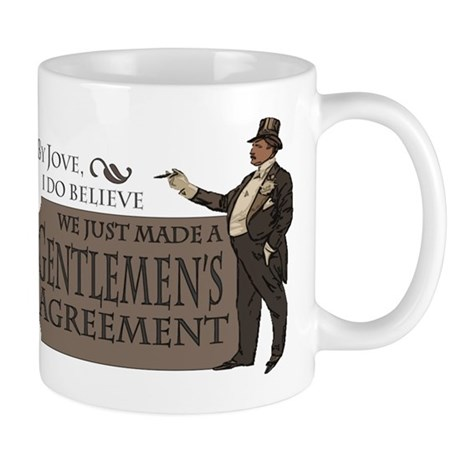 Gentlemen's Agreement Mug