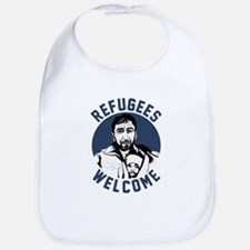 Refugees Welcome Baby Bib