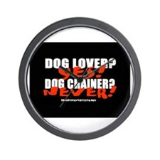 Dog Lover? Yes. Dog Chainer? Wall Clock