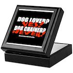 Dog Lover? Yes. Dog Chainer? Keepsake Box