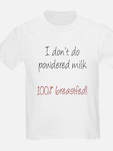 Breastfeeding advocacy kids T-Shirt