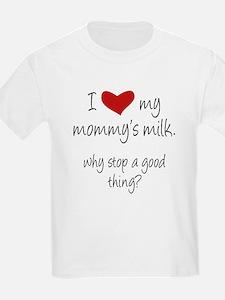 Cool Breastfeeding advocacy kids T-Shirt