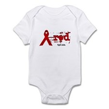 Red Ribbon   Fight AIDS Infant Bodysuit