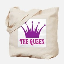 The Queen: Crown Tote Bag