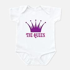 The Queen: Crown Infant Bodysuit