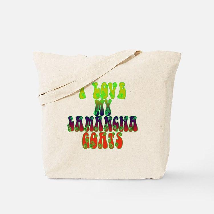 LaMancha Goats Tote Bag