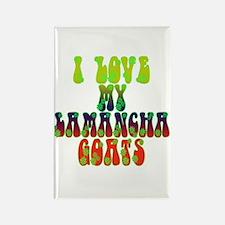 LaMancha Goats Rectangle Magnet