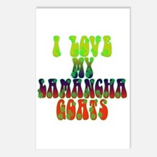 LaMancha Goats Postcards (Package of 8)