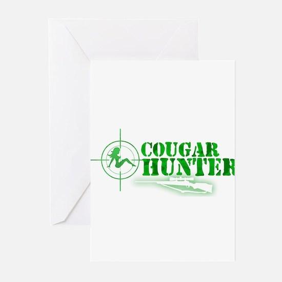 Cougar Hunter Greeting Cards (Pk of 10)