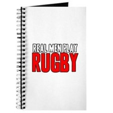 Real Men Play Rugby Journal