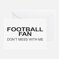 Football Fan Greeting Card