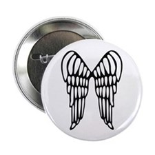 """Angel Wings 2.25"""" Button (10 pack)"""