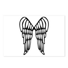 Angel Wings Postcards (Package of 8)