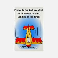 Cute Pilot humor Rectangle Magnet