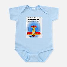 Unique Airport Infant Bodysuit