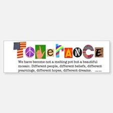 Tolerance Bumper Car Car Sticker