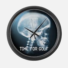 Unique Discgolf Large Wall Clock