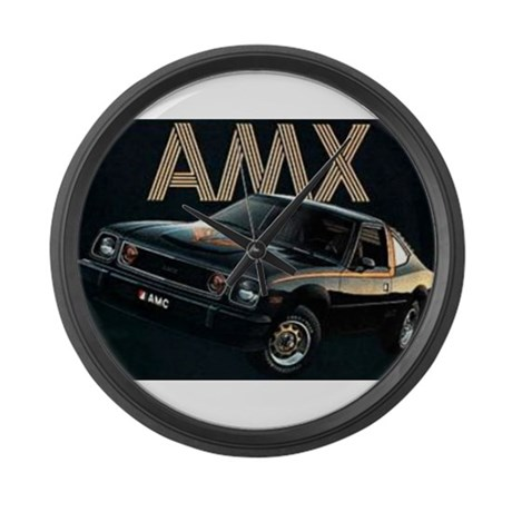 AMX Large Wall Clock