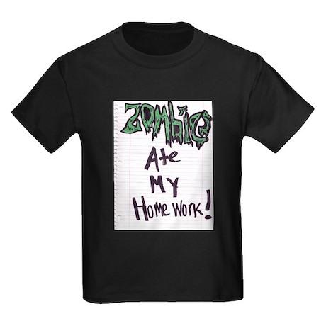 """""""Zombies ate my homework"""" art by Raye Ki"""