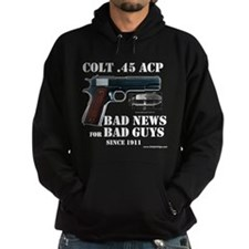 Colt 1911 Dark Hooded Sweatshirt