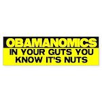 Obamanomics Bumper Sticker