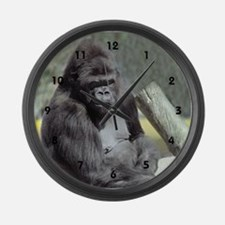 Big Gunns Gorilla Large Wall Clock