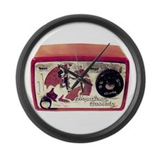 """Hopalong Cassidy"" Large Wall Clock"