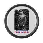 Team Infidel - General Pershing Large Wall Clock