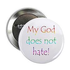 """Gay Religious 2.25"""" Button"""