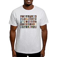 45 Dobbsheads Ash Grey T-Shirt