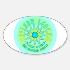Munchkinland Oval Decal