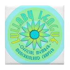 Munchkinland Tile Coaster
