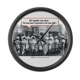 Vintage nurse Giant Clocks