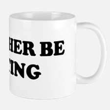 Rather be Writing Mug